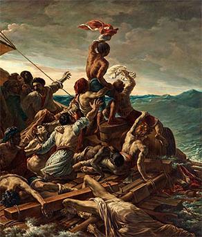 gericault vs david Eugène delacroix, liberty leading the people (july 28, 1830), september – december 1830, oil on canvas, 260 x 325 cm (musée du louvre, paris) poussinists vs rubenists if jacques-louis david.